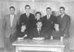 Waterloo College Assembly Committee, 1954-55
