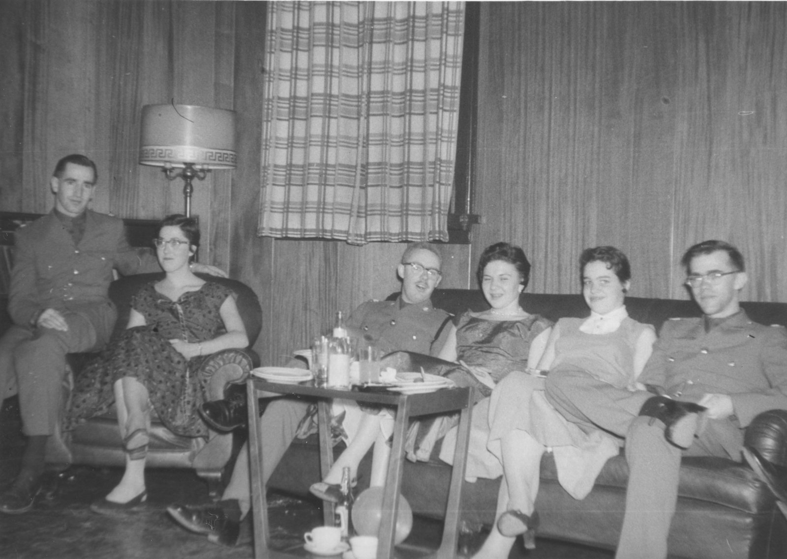 Canadian Officers' Training Corps Ball, 1955-56