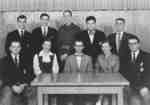 Waterloo College Cord editorial staff, 1954-55