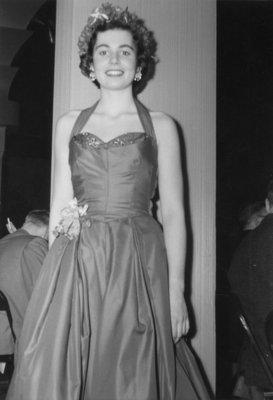 Sally Simson, Waterloo College Campus Queen 1955-56