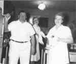 Waterloo College Dining Hall staff, 1953-54