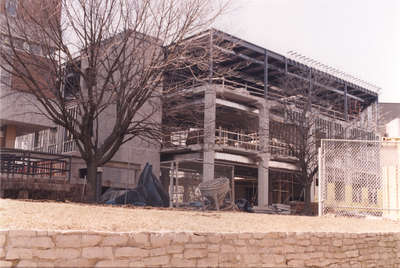 Construction of The Schlegel Centre, Wilfrid Laurier University