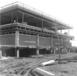 Waterloo Lutheran University Library construction