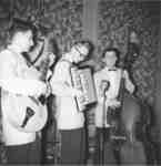 Kal Trio at Waterloo College Dorm Dance, 1955-56