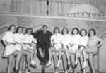 Purple and Gold Revue chorus line, December 1949