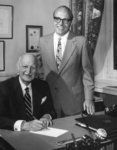 W. Ross Macdonald signing Bill 178