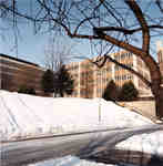 Wilfrid Laurier University Library and Dr. Alvin Woods Building