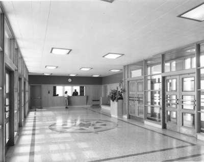 Arts Building foyer, Waterloo College