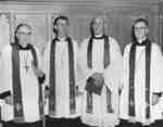 Synod officers at 1961 ordination service