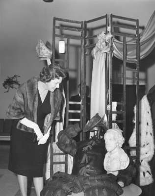 Dorothy Greb at Waterloo Lutheran University event, March 23, 1964