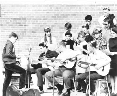 Waterloo Lutheran University initiation week, 1967