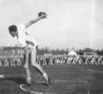Discus thrower, Waterloo College