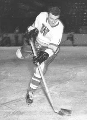 Waterloo College hockey player Dave Tucker