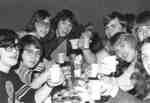 Students attending the Boar's Head Dinner, 1972