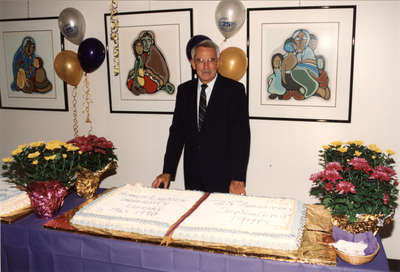Wilfrid Laurier University Library 25th anniversary celebration