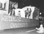 Waterloo Lutheran University Homecoming Parade float, 1968