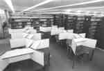 Study carrels in the Waterloo Lutheran University Library, after the second phase of construction