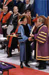 Presentation of Outstanding Teacher Award at Spring Convocation 1998, Wilfrid Laurier University