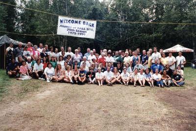 Ball Site reunion, July 1999