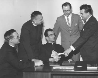 Local directors of French Lutheran Centre, Montreal