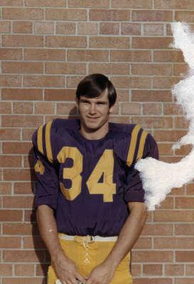 Roger Passmore, Waterloo Lutheran University football player