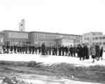 Library construction groundbreaking ceremony, Waterloo Lutheran University, 1964