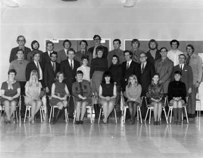 Waterloo Lutheran University Graduate School of Social Work students, 1970