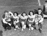 Waterloo College cheerleaders