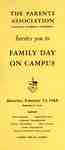 The Parents Association, Waterloo Lutheran University, invites you to Family Day on Campus, Saturday, February 13, 1965