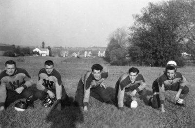Five Waterloo College football players