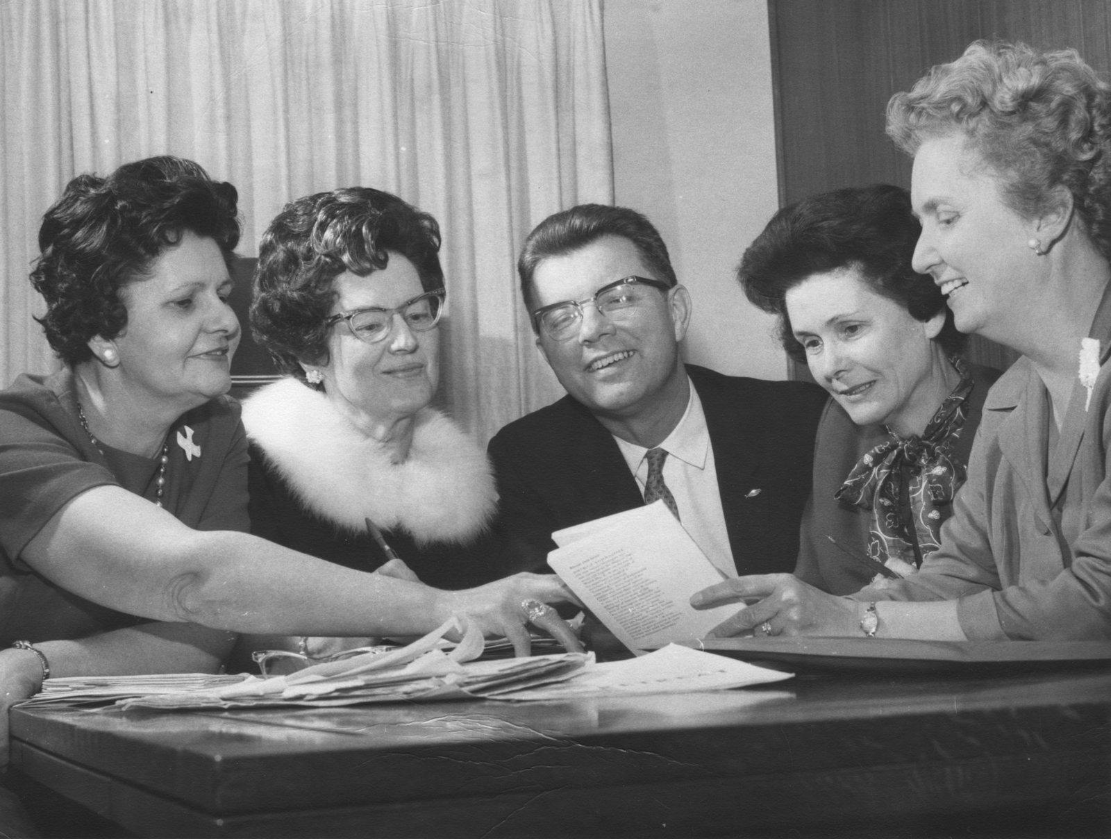 The Eastern Canada Synod Lutheran Church Women's executive
