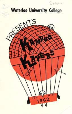 Waterloo University College presents Kampus Kapers : Feb. 16-17, 1962