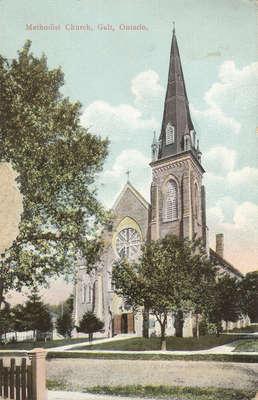 Methodist Church, Galt, Ontario