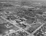 Aerial view of Waterloo Lutheran University, 1963