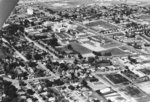 Aerial view of Waterloo Lutheran University, 1971