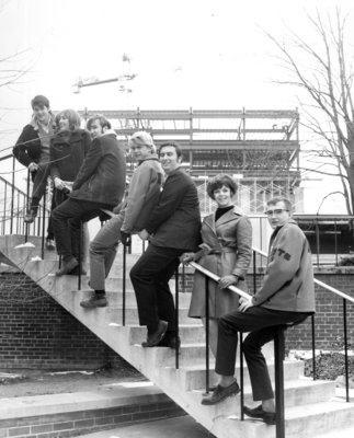Waterloo Lutheran University students