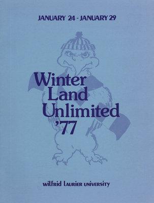 Winter land unlimited '77 : Wilfrid Laurier University