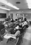 Social work class, Waterloo Lutheran University