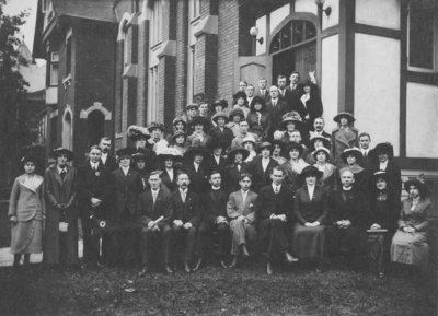 Convention of the Luther League of the Western District of Canada, Hamilton, Ontario, 1913