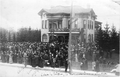 Official opening of the Evangelical Lutheran Seminary of Canada, October 1911