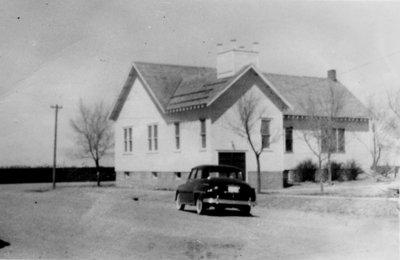 Church at Gurley, Nebraska