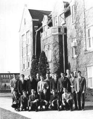 Willison Hall residents, 1966-67