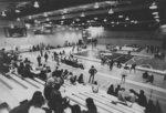 Wrestling match at Wilfrid Laurier University