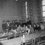 Waterloo Lutheran University Library staff, 1959-60