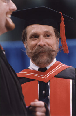 Dean Knight at spring convocation 1998