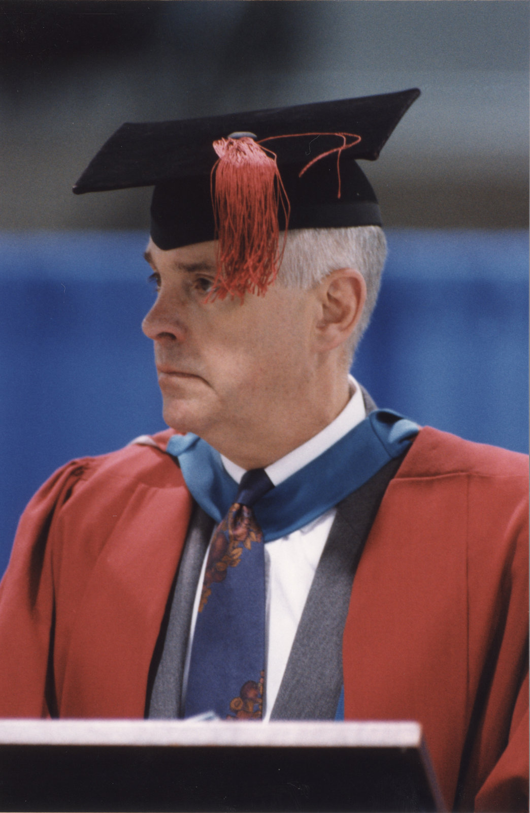 Rowland Smith at spring convocation 1998