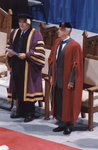 Robert Rosehart and Rowland Smith at spring convocation 1998