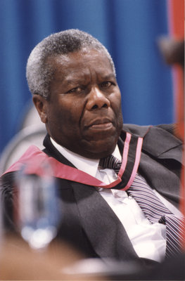 Edcil Wickham at spring convocation 1998