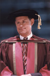 Scott Carson at spring convocation 1998