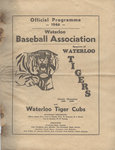 Waterloo Baseball Association : official programme 1946